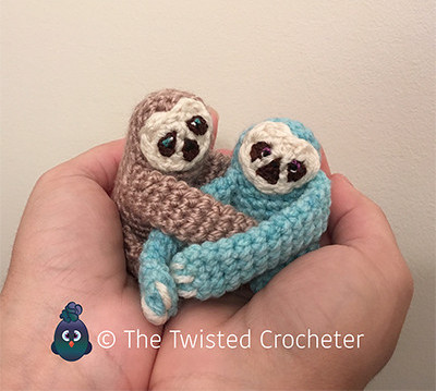 The Twisted crocheter - Sloth free crochet pattern