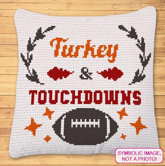 Thanksgiving Crochet Pattern - Crochet Football Pattern