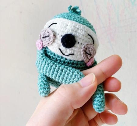 Amigurumei - Free sloth crochet pattern