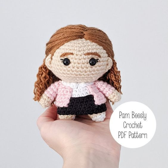 Pam Beesly Crochet Pattern