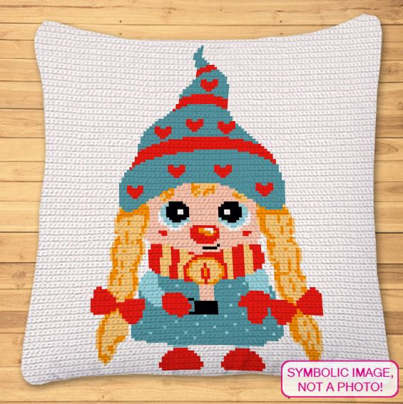 Crochet Girl Gnome Pattern
