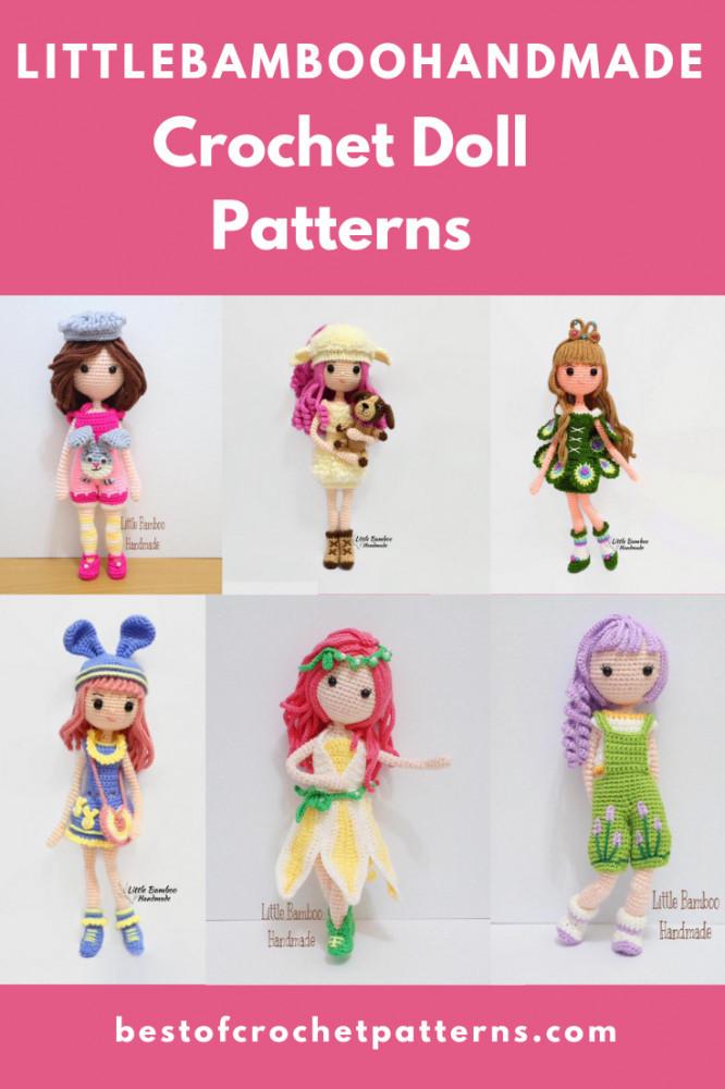 Crochet Doll Patterns by LittleBambooHandmade