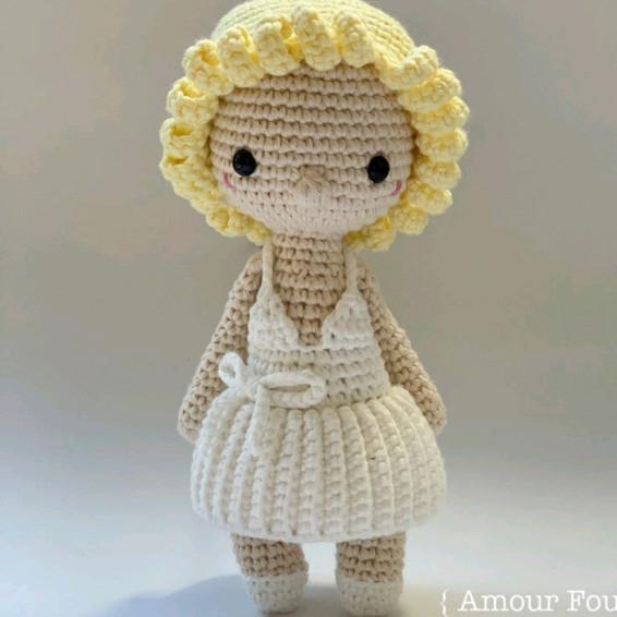 Marilyn Monroe Crochet Pattern - Iconic Woman Crochet Pattern