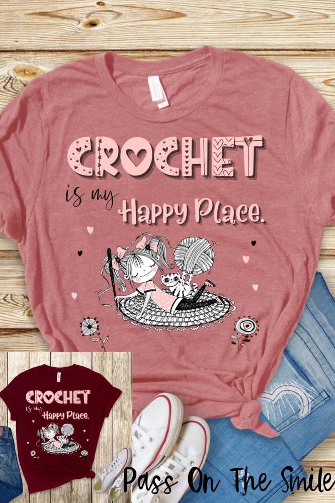 Crocheter Shirt, Great Gift for Yarn Lover