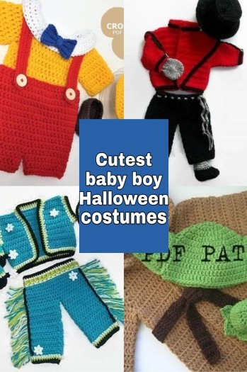 The cutest costumes for boys