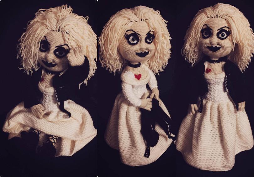 Bride of Chucky Crochet Pattern
