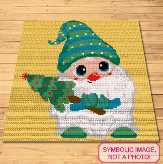 Green Gnome Crochet Pattern
