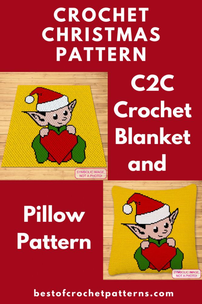Christmas Crochet Pattern - Crochet Elf Pattern