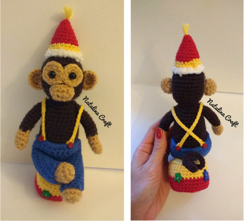 Party monkey free download from Natalina Craft