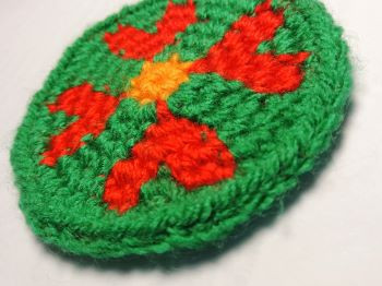 The flower coaster free pattern