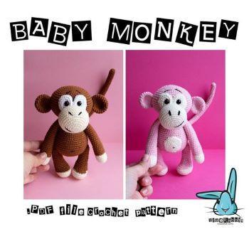 baby monkey from BlueRabbitToys