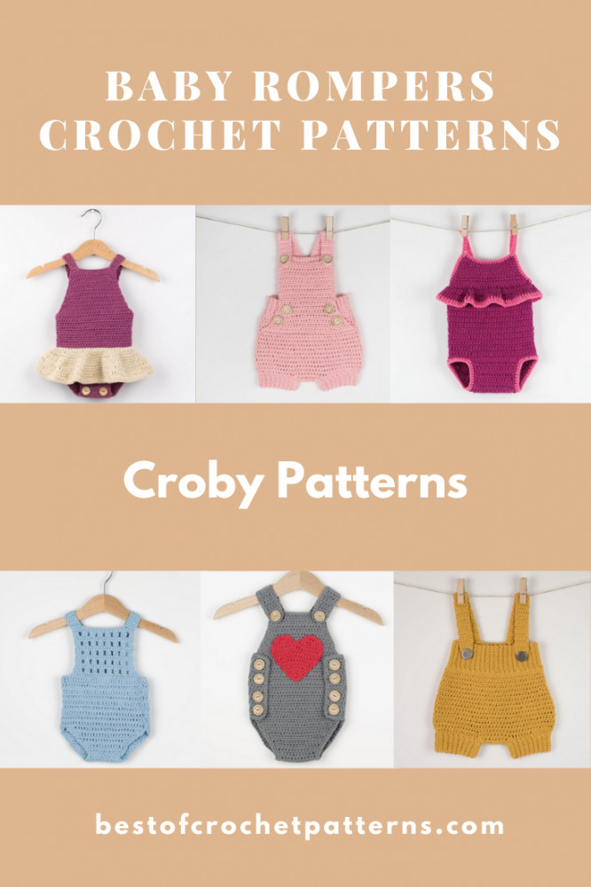 Baby Rompers Crochet Patterns - Croby Patterns
