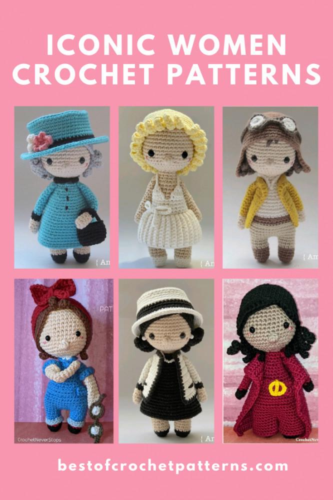 Crochet Pattern - Iconic Woman Crochet Pattern