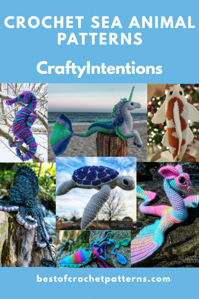 Crochet Sea Animal Patterns