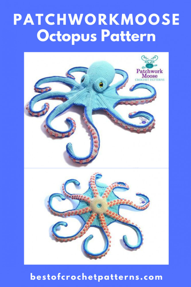 Octopus Crochet Pattern by PatchworkMoose