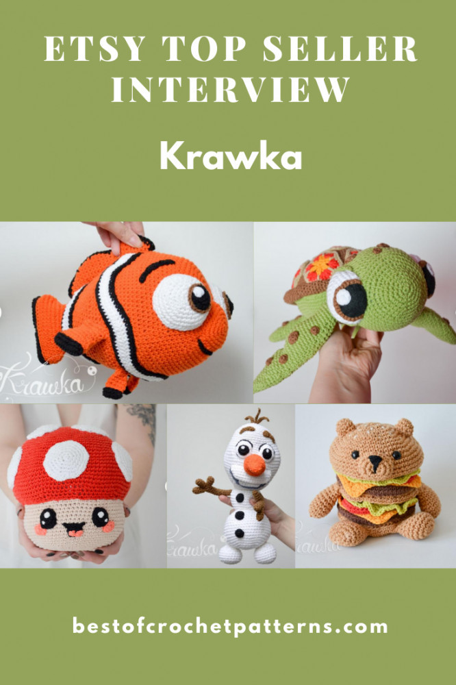 Etsy Top Seller Interview - Krawka Crochet Patterns
