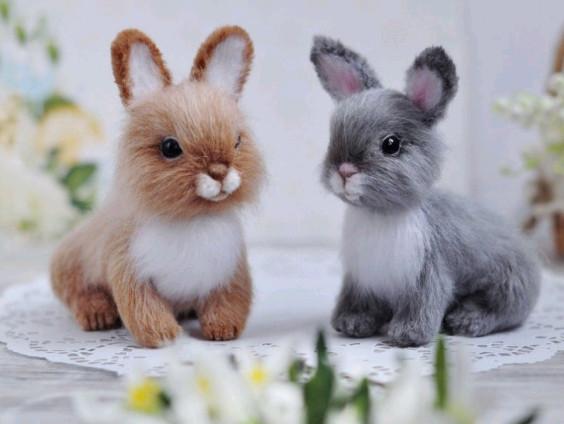 Crochet bunny pattern - RedPandatoy