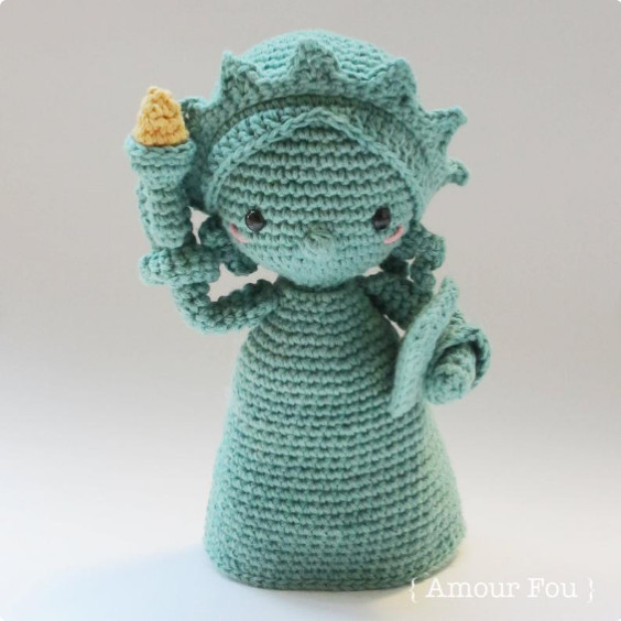 Lady Liberty Crochet Pattern by Amour Fou