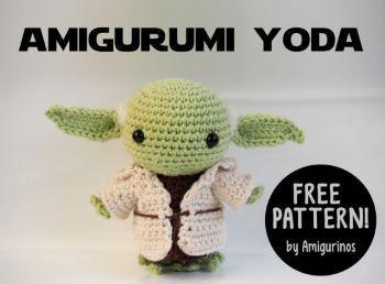 Amigurumi Yoda Free Pattern