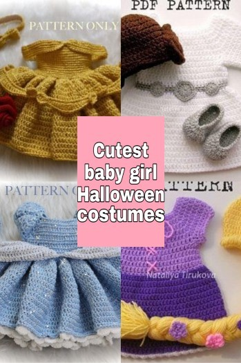 Cutest Halloween costumes for baby girls