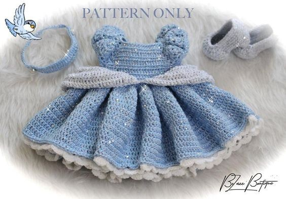Princess Cinderella crochet pattern