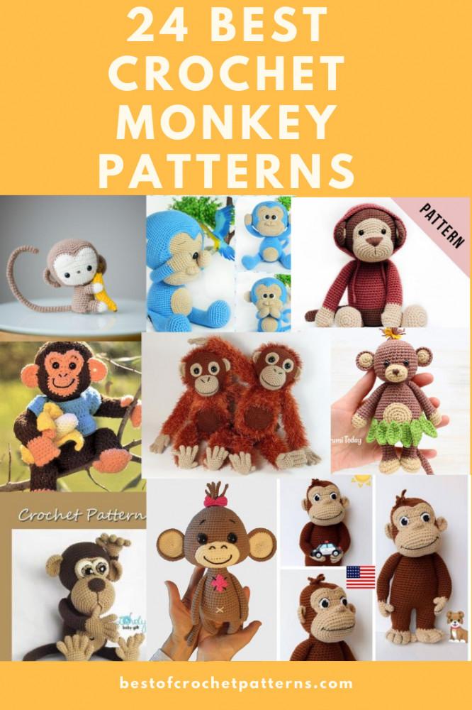 24 best crochet monkey patterns