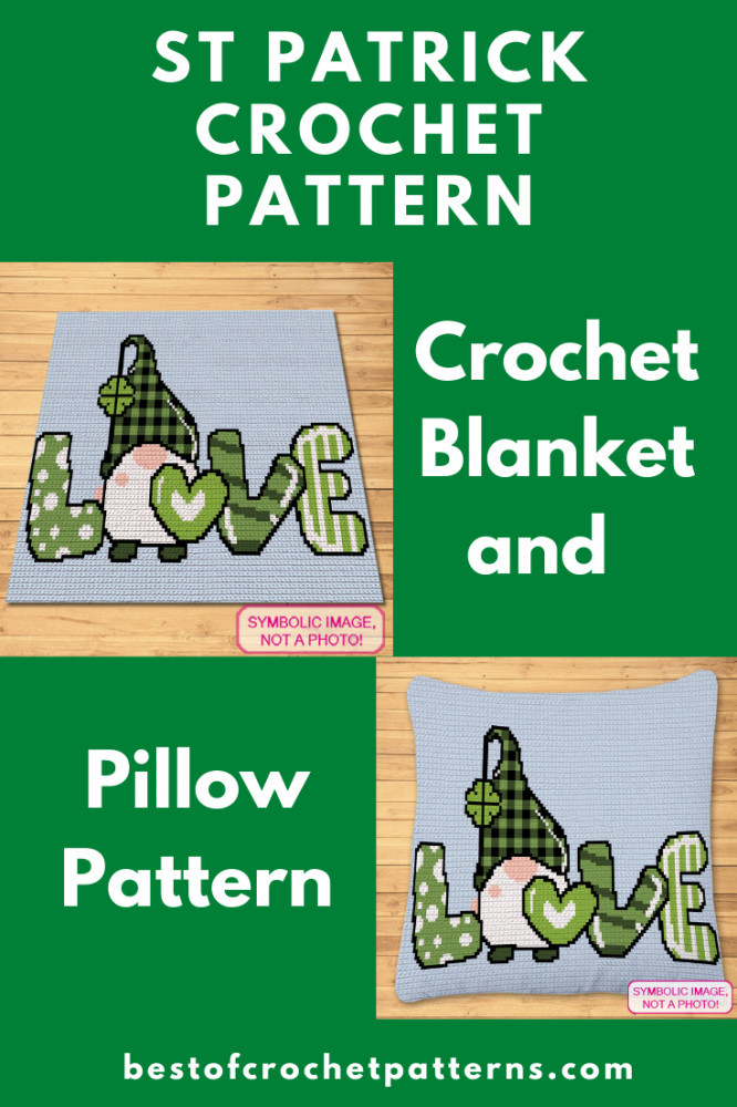 St Patricks Day Crochet Pattern - Crochet Gnome Pattern