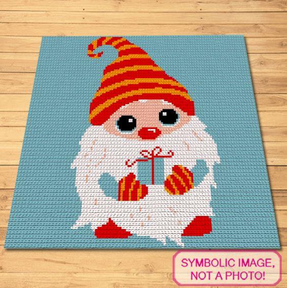 Crochet Christmas Gnome Pattern