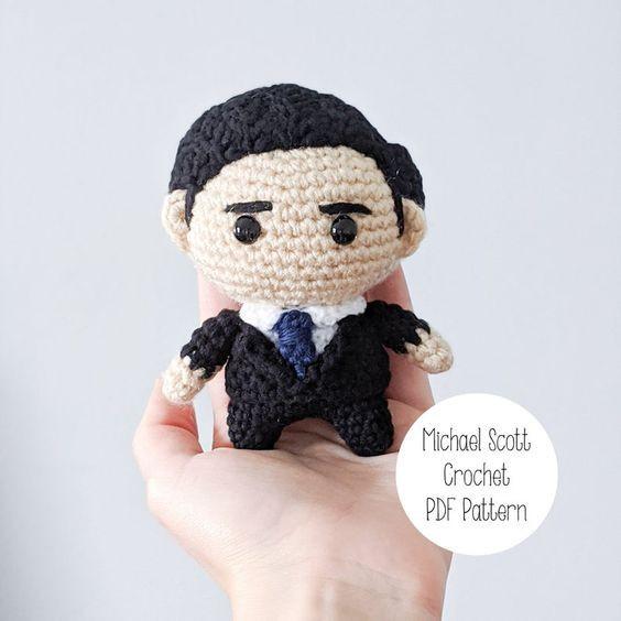 MIchael Scott Crochet Pattern
