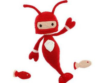 Crochet pattern PDF: Lobster Kevin