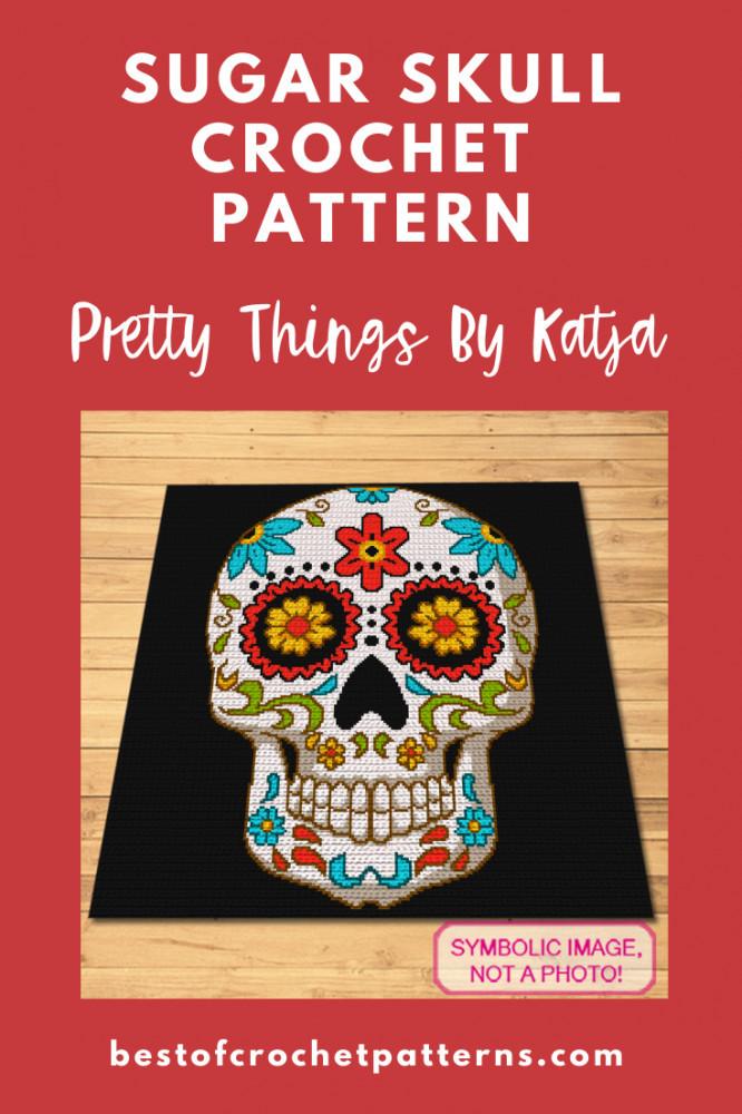 Dia De Los Muertos Crochet Patterns - Pretty Things By Katja