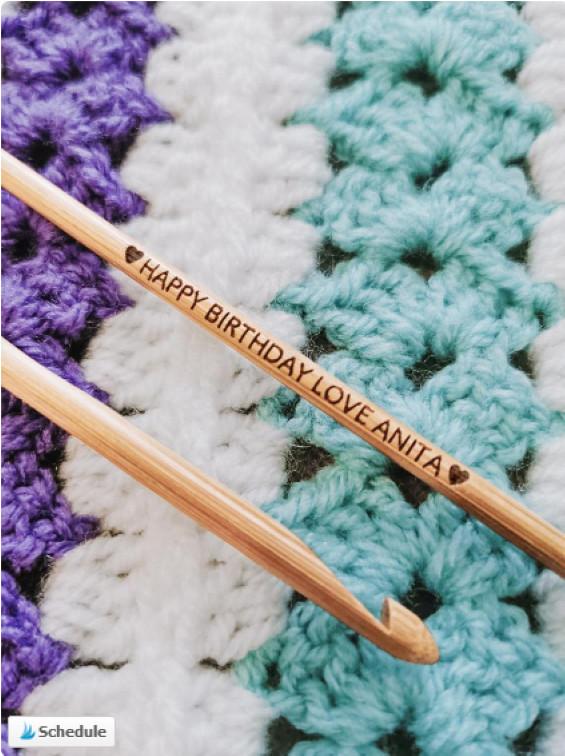 Personolized Crochet Hook - Best Gift for Crochet Lover
