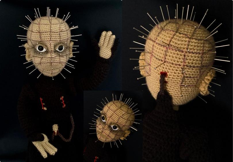 The Pinhead Crochet Amigurumi Pattern