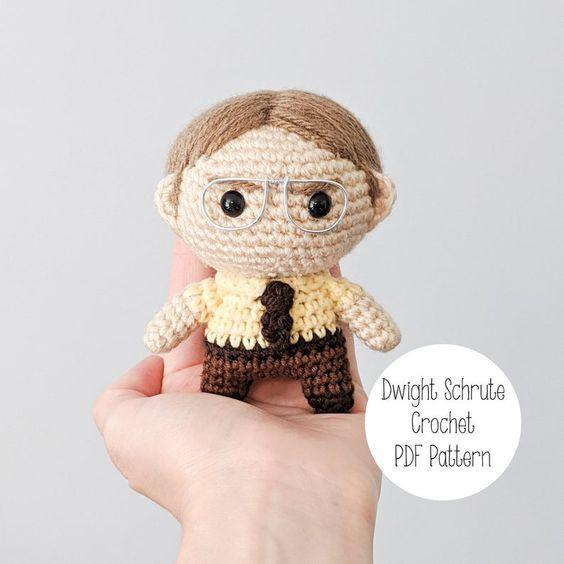 Dwight Schrute Crochet Pattern