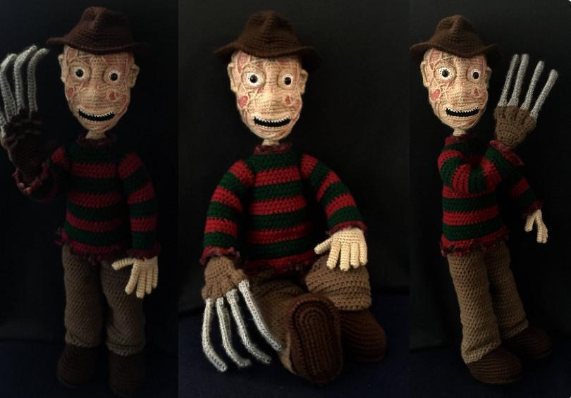 Freddy Krueger Amigurumi Crochet Pattern