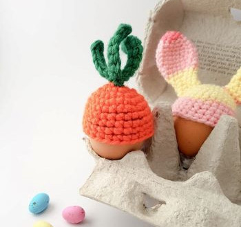 Carrot egg cosy by Thores by Cottage