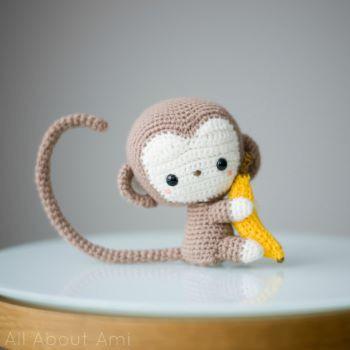 All about Ami free monkey pattern