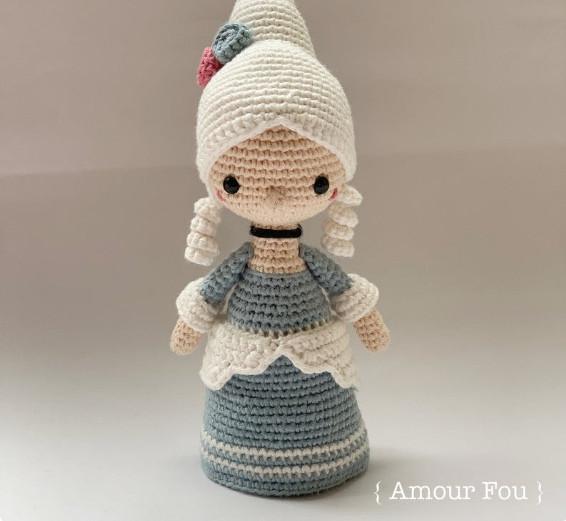 Marie Antoinette Crochet Pattern by Amour Fou