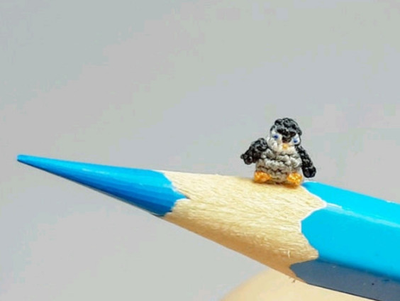 Crochet Micro Amigurumi Pattern - LuciaKnit