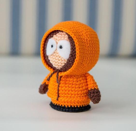 Kenny McCormick Crochet Pattern