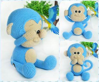 Cute monkey from Havva designs