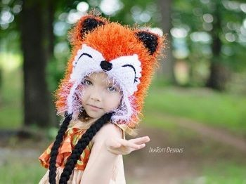 Moxie the Furry Fox Hat