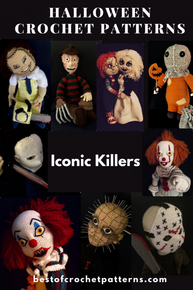 Halloween Crochet Patterns - Amigurumi Killers