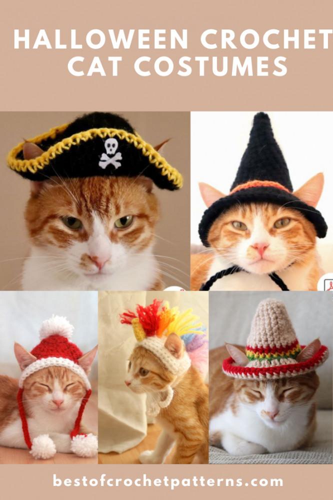 Halloween Crochet Cat Patterns - Cat Costume Patterns