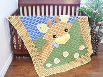 Rusty the Giraffe Blanket