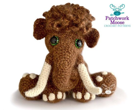Wolly Mammoth Crochet Pattern by PatchworkMoose