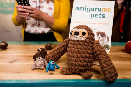 Crafty is cool - Sloth free crochet pattern