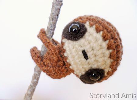 Storyland Amis free sloth pattern