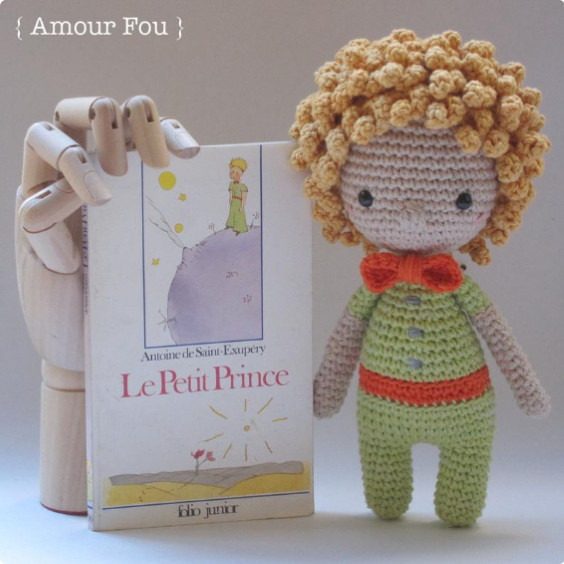 The Little Prince Crochet Pattern by Amour Fou
