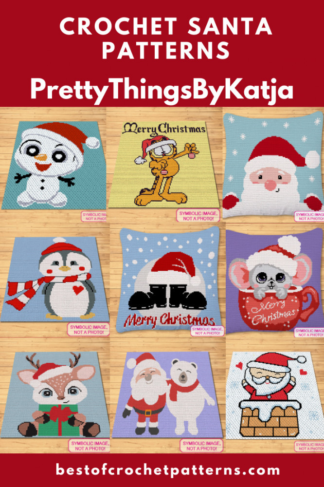 Christmas Crochet Patterns - Blanket and Pillow Patterns